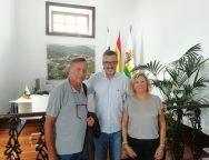 La Asociación Cultural Escultura César Manrique sigue con el periplo de visitas a las diferentes instituciones de la isla