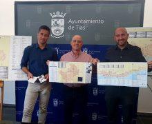 El Ayuntamiento lanza un nuevo callejero promocional donde une los mapas de Puerto del Carmen y el centro de Tías