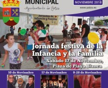 Yaiza invita a participar de su Programación Municipal de noviembre