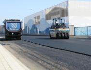 Concluyen las obras de reasfaltado de la carretera LZ 101 en el tramo de la Avenida de Naos en Arrecife