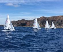 6 Equipos preolímpicos de 470 competirán en Arrecife este fin de semana