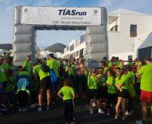 Más de 500 escolares y sus familias participaron en la carrera Tías Run