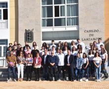 El IES Las Maretas gana la fase insular del III Concurso Regional de Debate Escolar celebrado en el Cabildo de Lanzarote