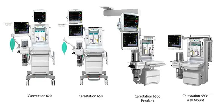 GE Healthcare recalls nearly 3,600 anesthesia systems