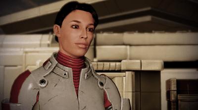 Ashley Williams auf Horizon in Mass Effect 2