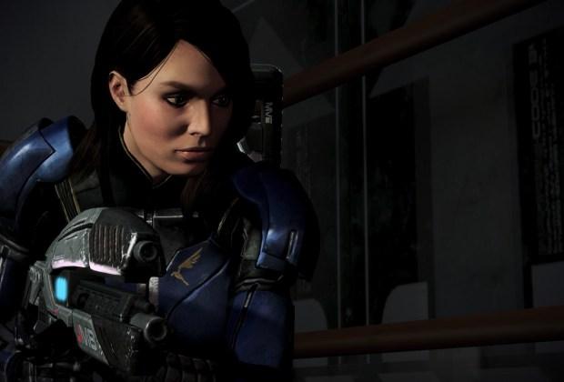 Ashley Williams in Mass Effect 3