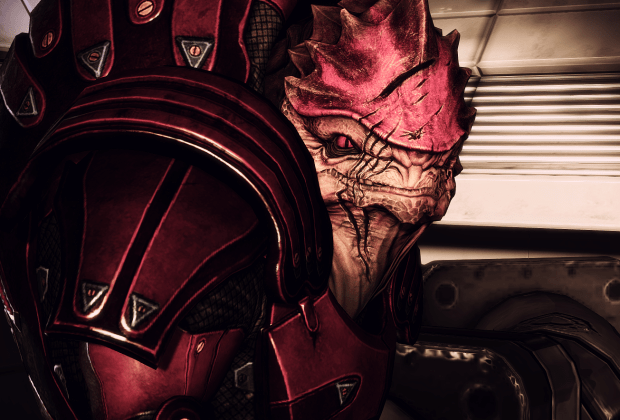Wrex in Mass Effect 2