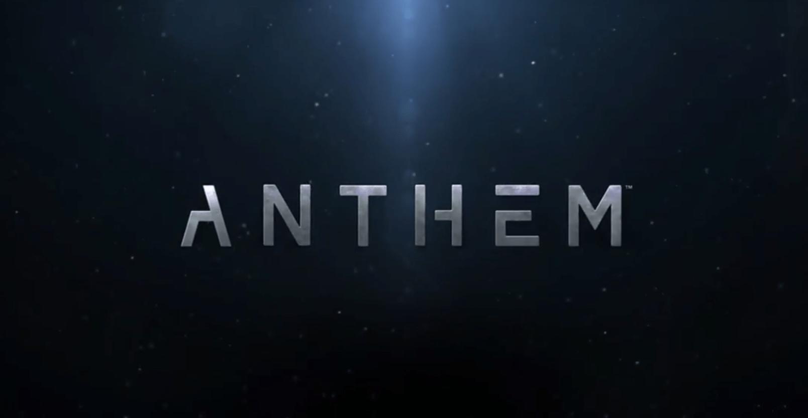 Anthem: EA und BioWare enthüllen neues Spiel mit Teaser-Trailer