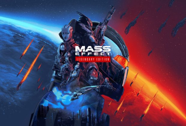 Mass Effect Legendary Edition Keyart