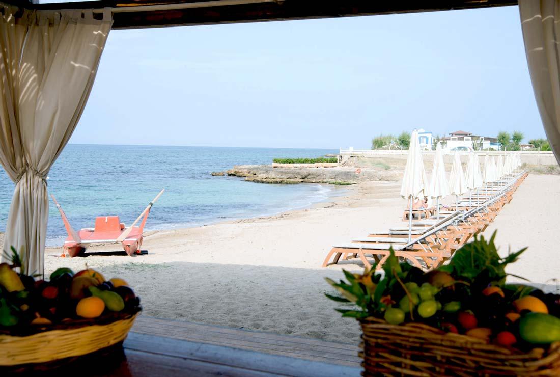 Hotel con spiaggia privata in Puglia  Masseria San Domenico