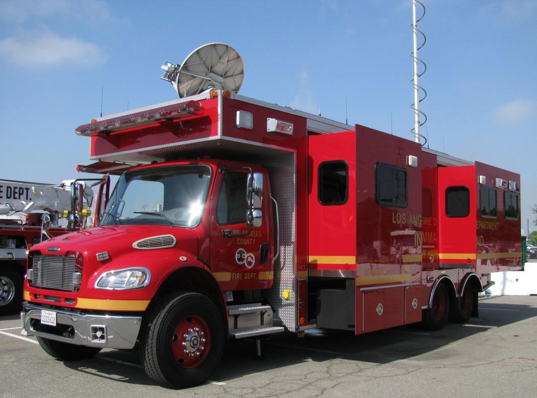La County Fire Feature