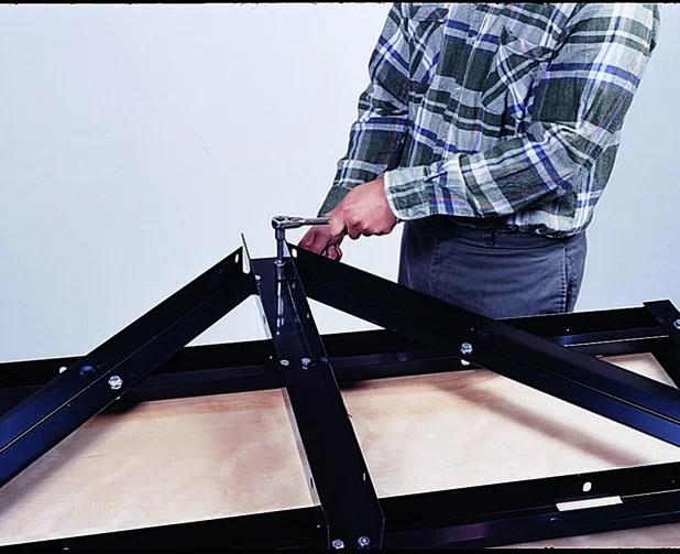 Determining the axle