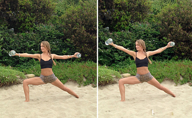 yoga-poses-to-tone-your-arms-warrior