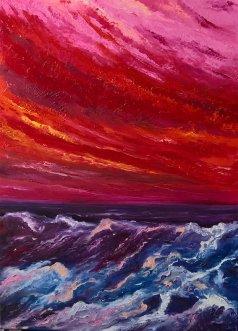 Massimiliana Bettiol Oceano Rosso