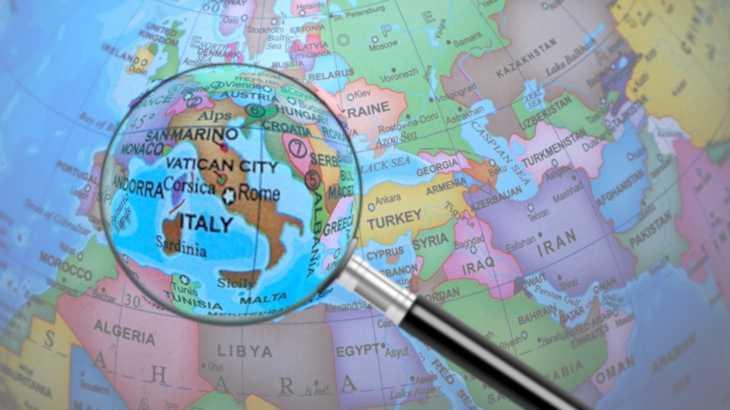 L'Italia sotto la lente