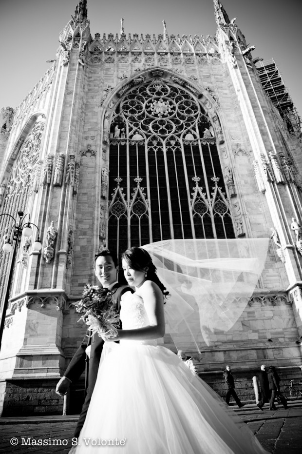 Chinese pre-wedding in Milan