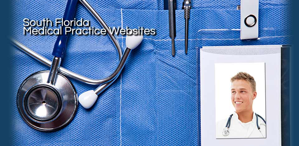 south florida medical practice websites