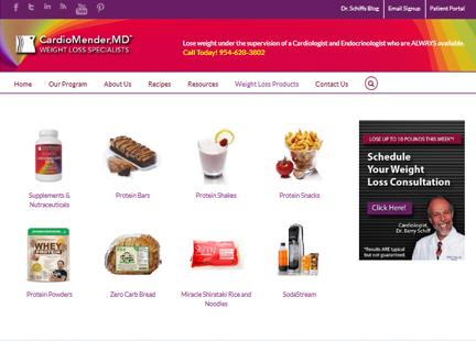 broward website redesign subpage