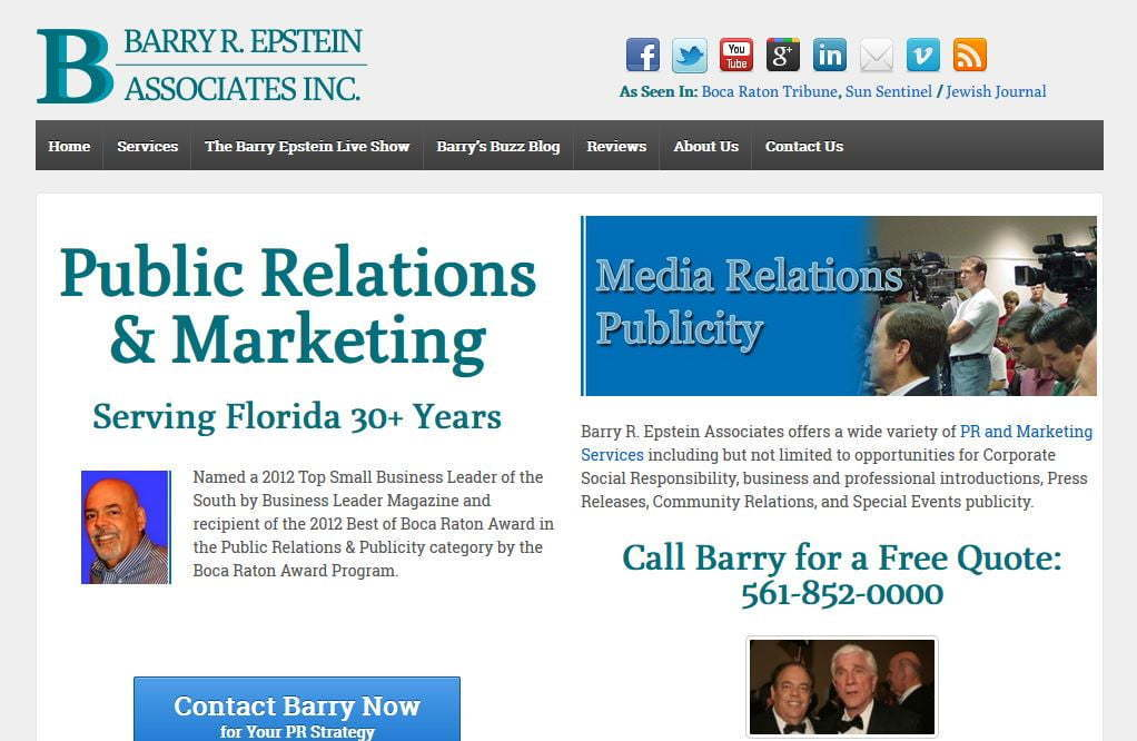 public relations website