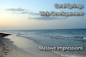 coral springs web developement