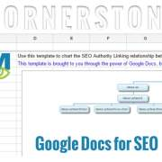 using google docs for seo cornerstone