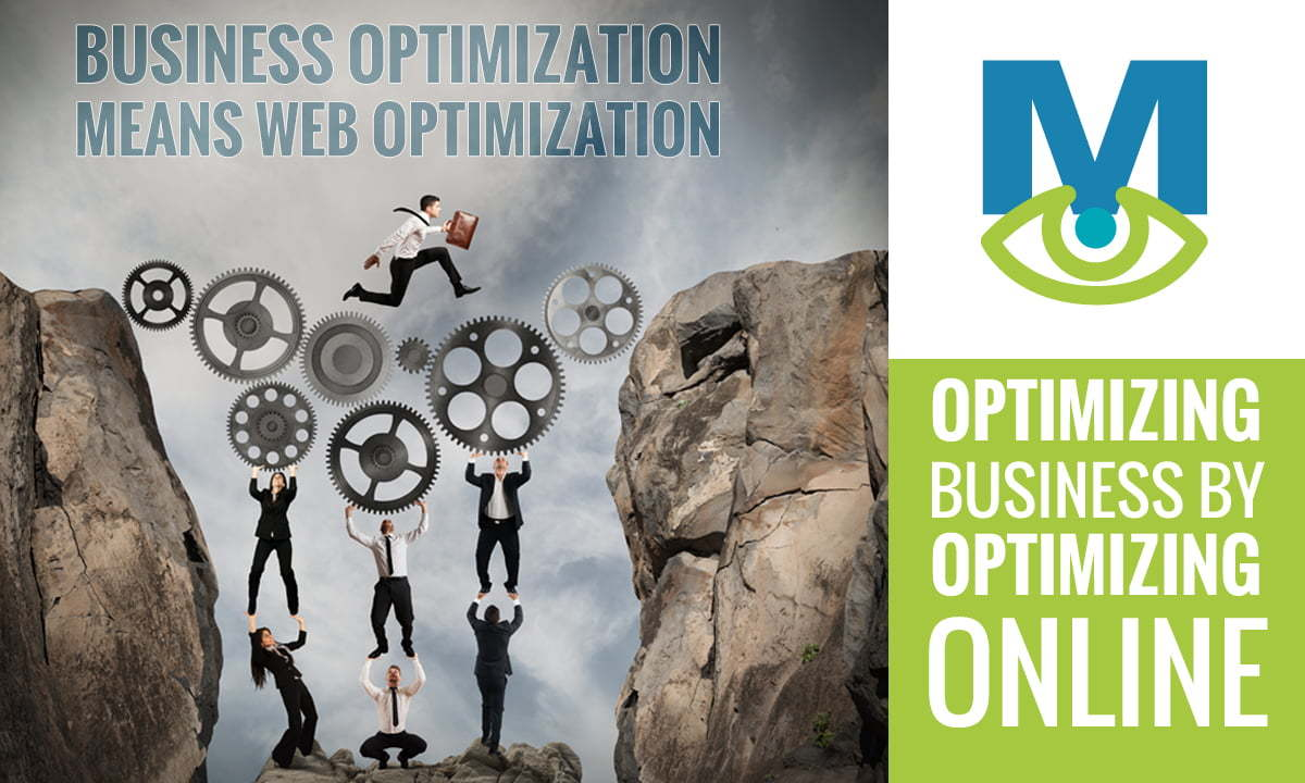 business optimization means web optimization