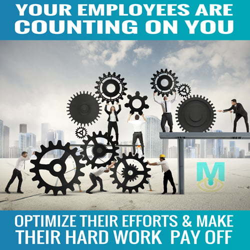 employees are counting on you to optimize your website