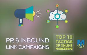 Top Ten Online Marketing Tactics : PR and Inbound Link Campaigns