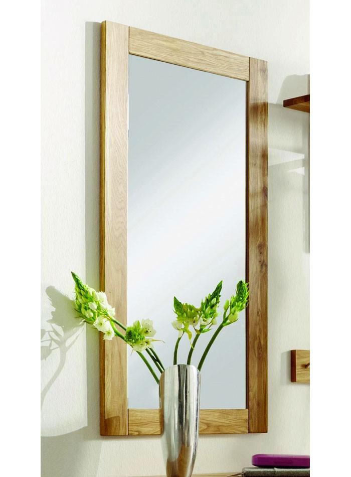 Massivholz Spiegel 50x100 mit Holzrahmen