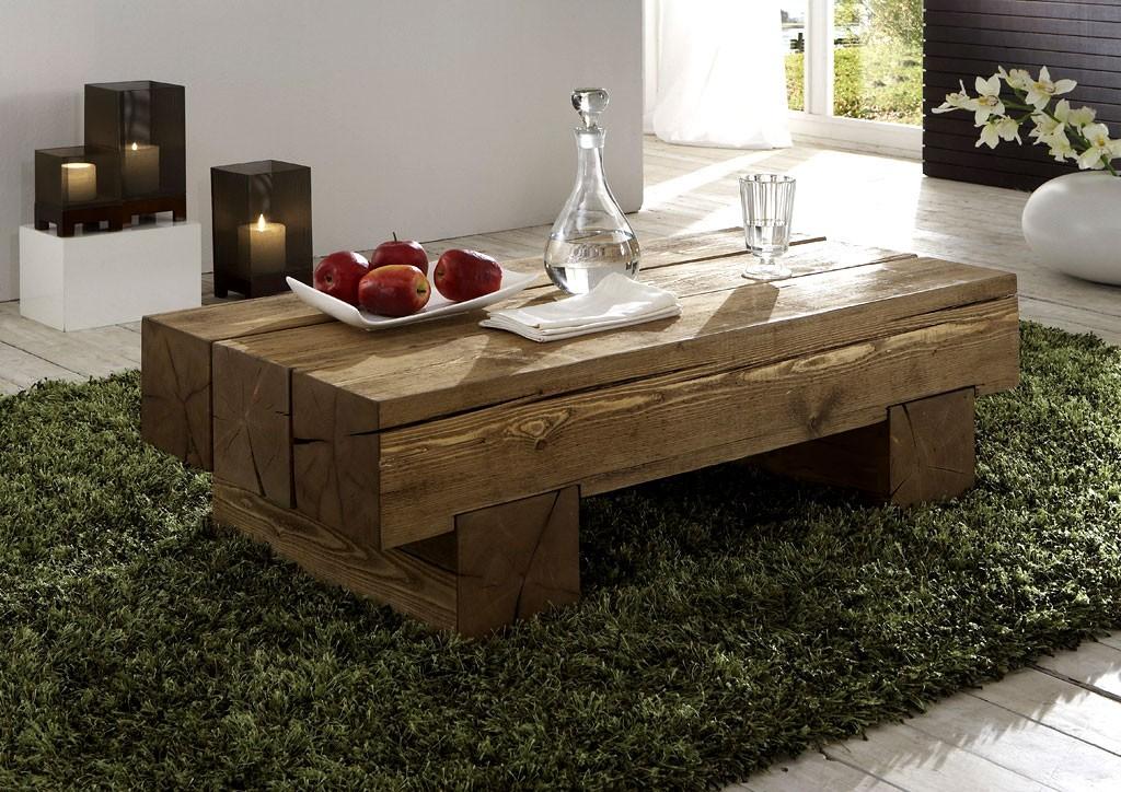 Couchtisch Eiche Rustikal Modern Massivholz Couchtisch Beistelltisch Sofatisch Vollholz Rustikal Antik
