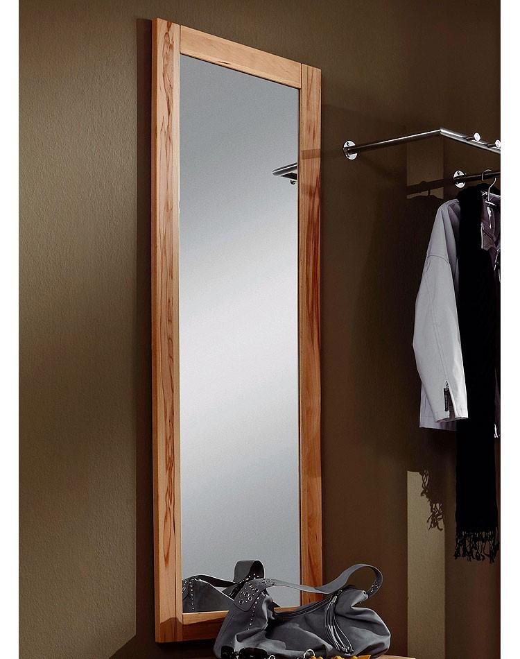Massivholz Spiegel 50x146 Wandspiegel Kernbuche