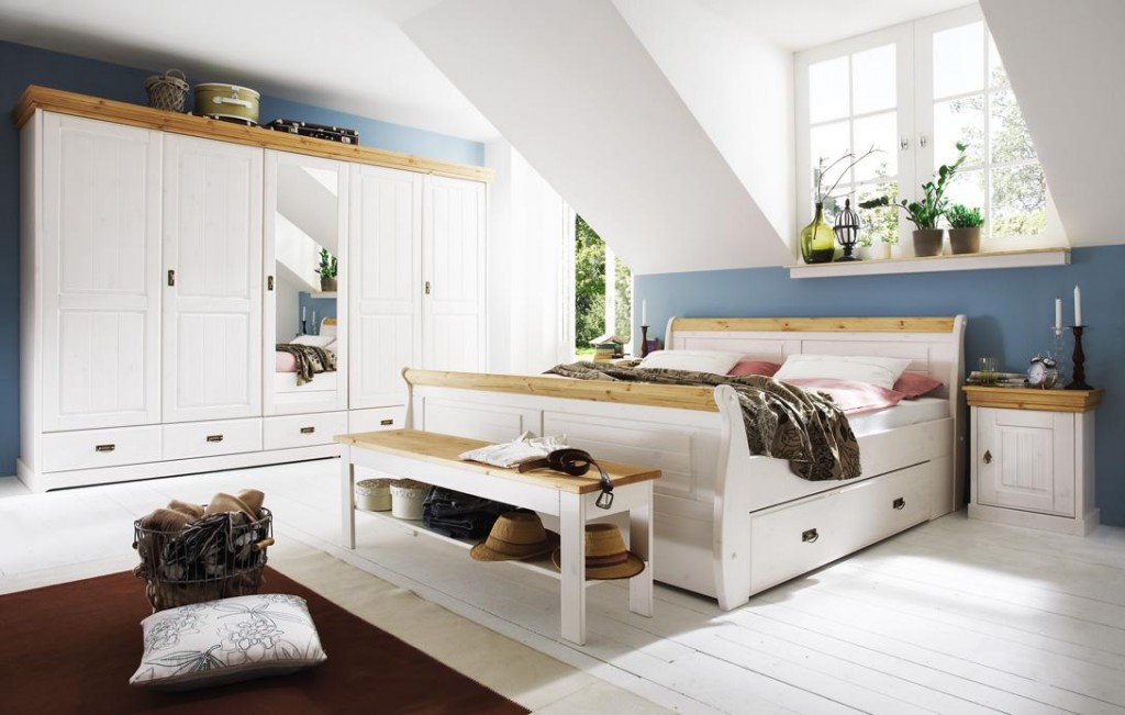 schlafzimmer komplett landhausstil – abomaheber, Schlafzimmer ideen