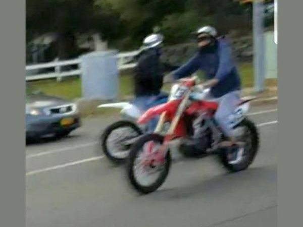 dirt bike rider seriously