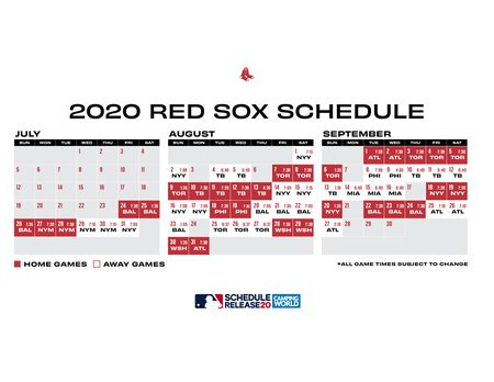 Boston Red Sox 2020 schedule analysis: 60-game gauntlet a ...