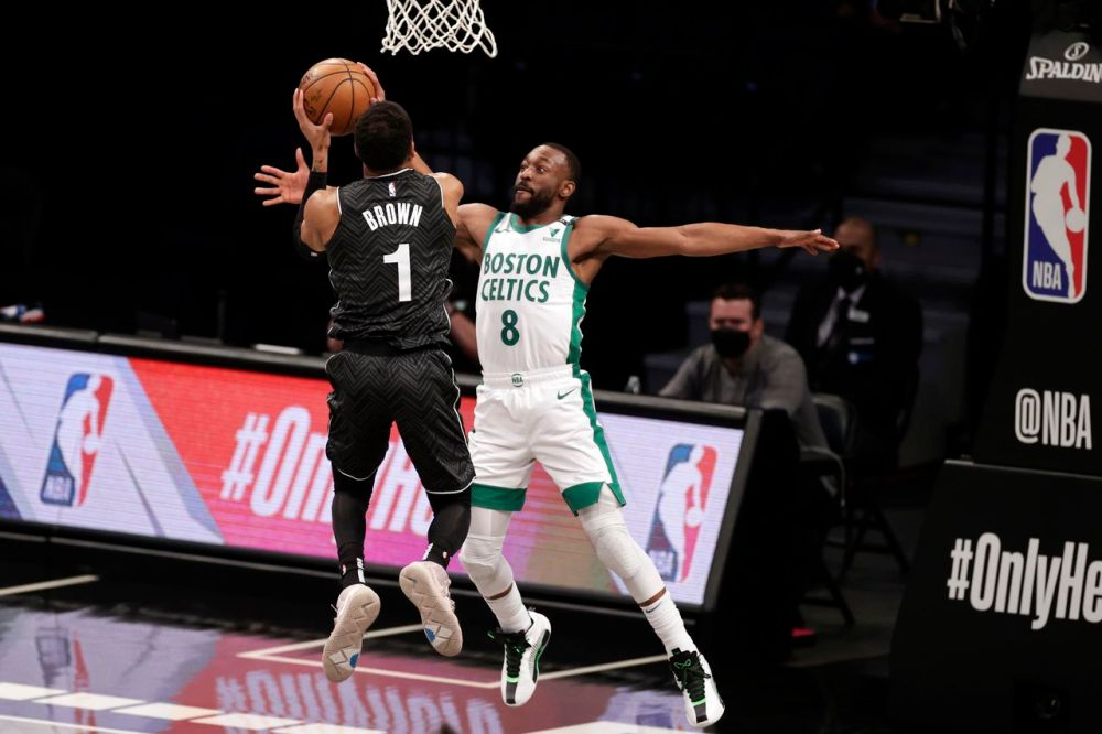 Jayson Tatum's 31 not enough as Celtics fall 121-109 to the Nets and Kyrie  Irving's 40-point night - masslive.com