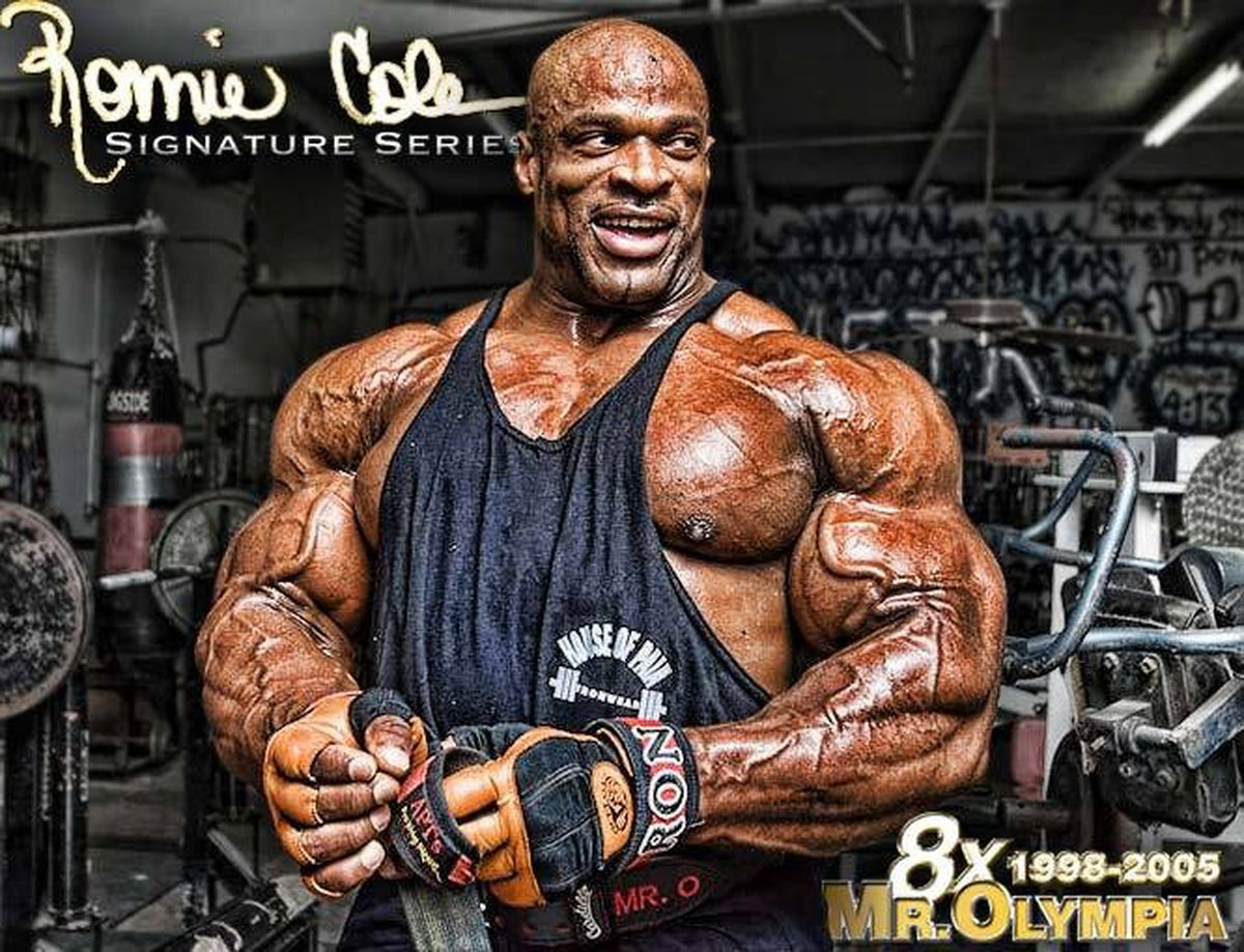 Bodybuilding Wallpaper For Iphone X Professional Bodybuilder And 8 Time Mr Olympia Ronnie