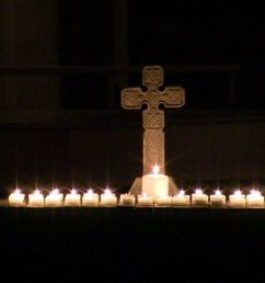 o come o come to advent celtic candlelight service at st andrew s episcopal church in longmeadow [ 1200 x 675 Pixel ]