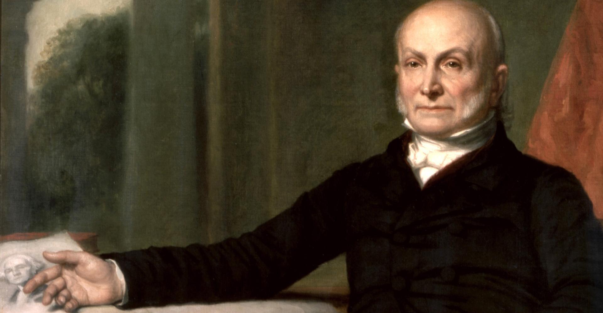 John Quincy Adams Returns To Paris