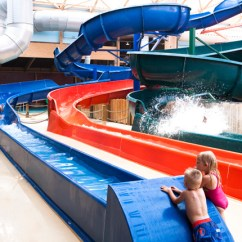 In Water Pool Chairs Cobalt Blue Chair Covers Massanutten Indoor Waterpark | Resort, Va