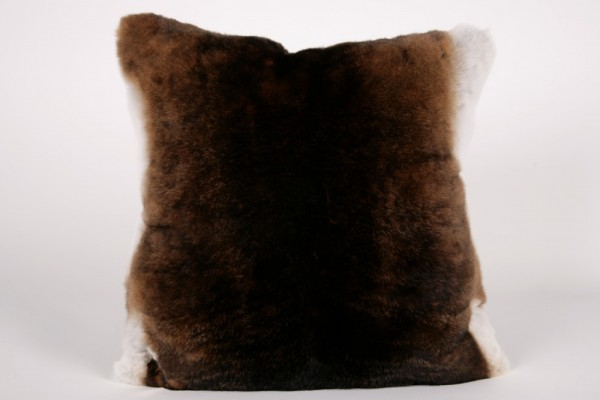 rex rabbit fur pillow real fur