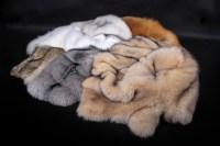 Real Fur Dog Bed SAGA Fox | Lars Paustian International Furs