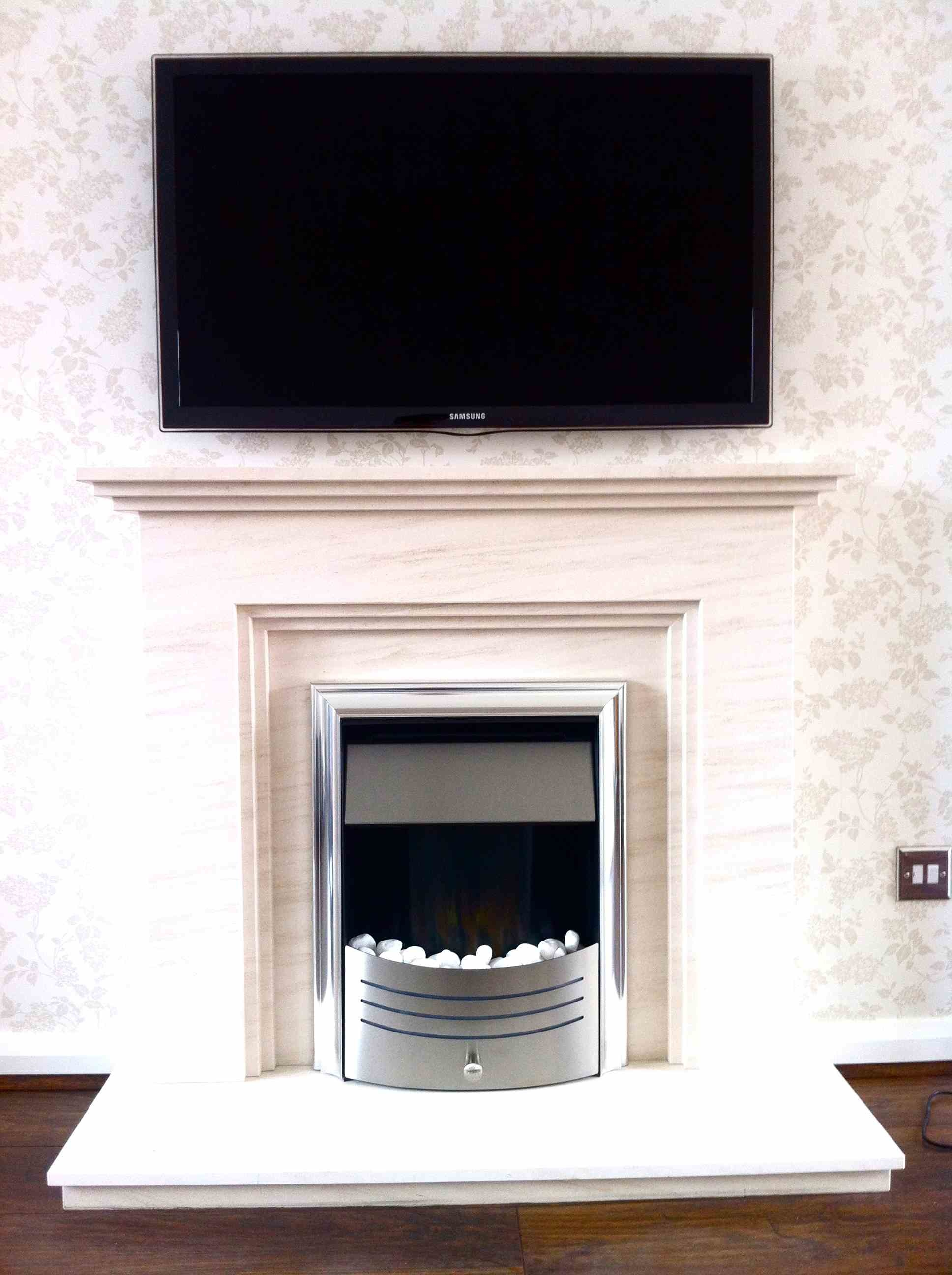 kitchen tv mount cabnits gallery | master av services