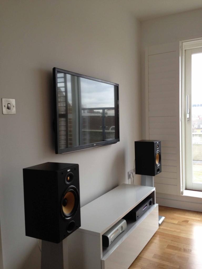 TV wall mounted Installation in East london  Master AV Services