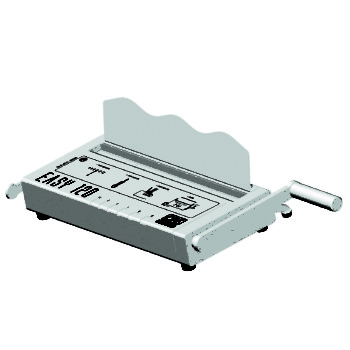 Easy_120 | Book binding Machine. The simple and lightweight book binding machine for home offices and crafts!