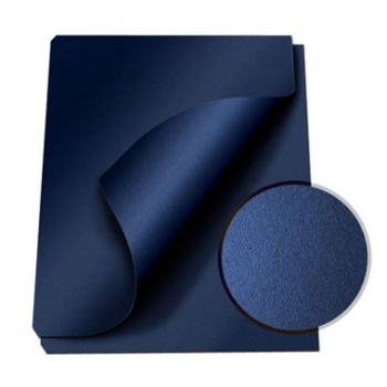 "MasterBind Navy 8.5 x 11"" Composition Soft Covers - 100pk. Are you searching for the simple and stylish covers that can really help your project report shine? Look no further, the ideal covers has arrived. The MasterBind Composition Soft Covers features a smooth and soft leather texture that will instantly astonish the person receiving the report. With the option to combine color-coordination or even miss-matching the cover and channel spine set can really bring out the creativity and uniqueness of the project. Select and choose from a variety of colors include black, navy and maroon. Don't just settle on a basic cover, choose the best option that will illustrate your creativity. Let your document speak for itself, and start it with the covers!"