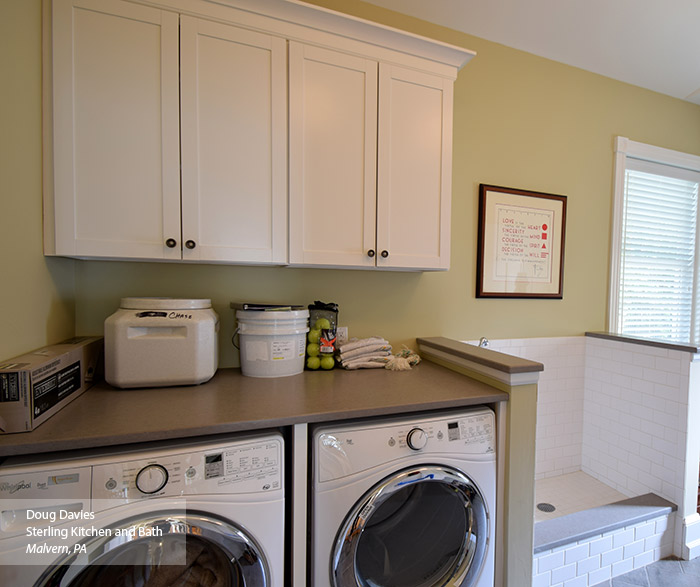 White Laundry Room Wall Cabinets  MasterBrand