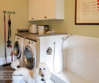 White Laundry Room Wall Cabinets - MasterBrand