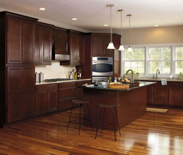 Maple Wood Kitchen Cabinets By Aristokraft Cabinetry