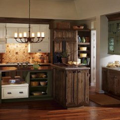 Rustic Kitchen Cabinet Refinish Or Replace Cabinets Masterbrand By Decora Cabinetry
