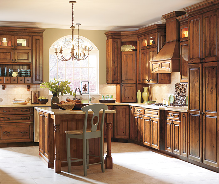 alder kitchen cabinets height of stools for island masterbrand gallatin in whiskey black finish